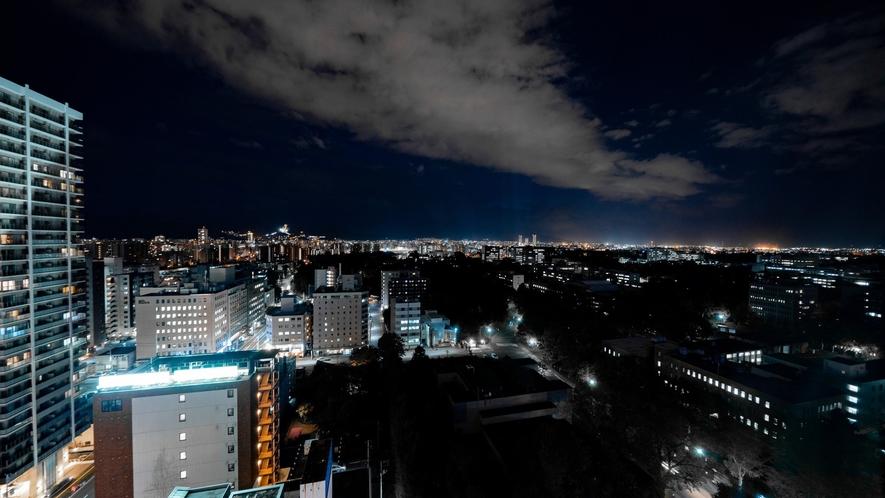 高層階からの夜の景観(西側)