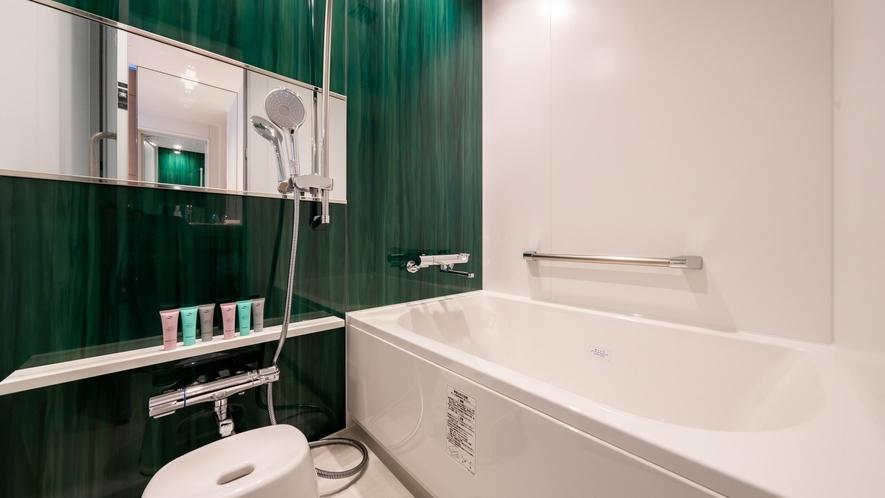 コンフォートタイプの洗い場付バスルーム