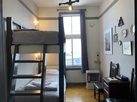 202 ツインルーム2段ベッド