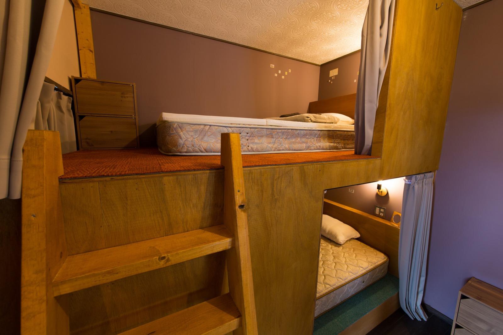 104号室2段ベッド