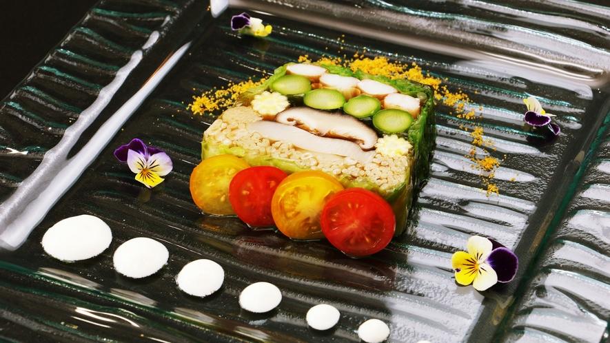 夏のお料理一例