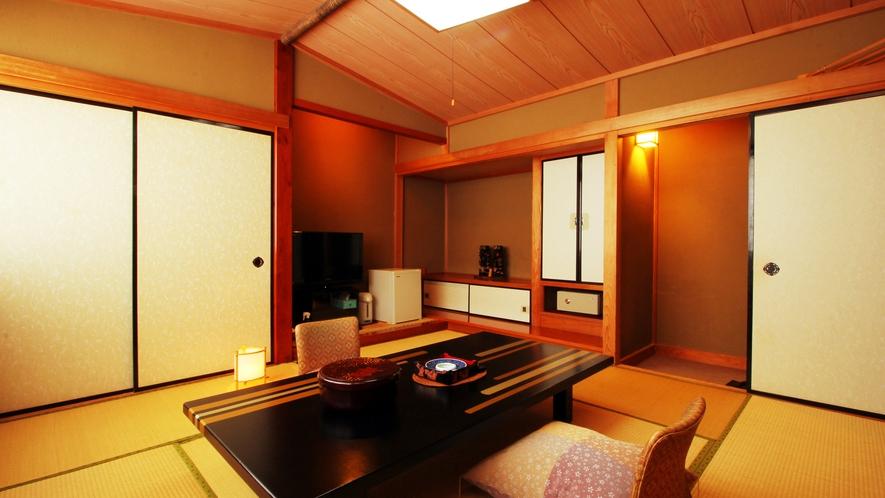 ◆客室一例◆畳のお部屋でごゆっくりおくつろぎください