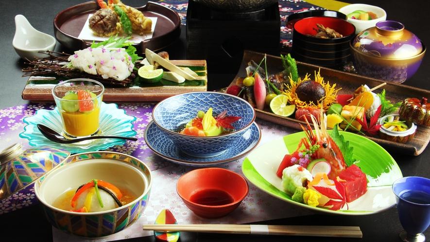 ◆スタンダード◆お料理イメージ 秋(※内容は時季により変更になります)