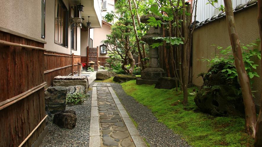 雰囲気のあるお庭