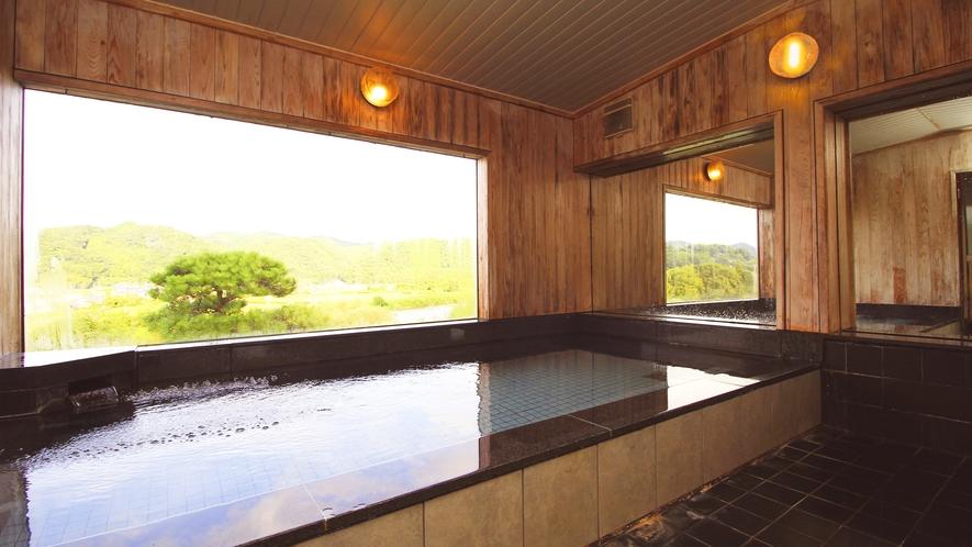 ◆展望風呂◆久慈川を一望できます