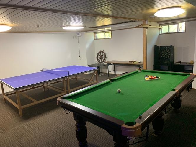 ◆遊技場(ビリヤード、卓球)
