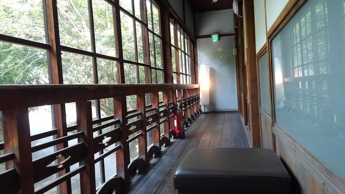 天然温泉・地元柿の葉寿司朝食と古民家レストランで夕食つき♪Wi-Fi完備