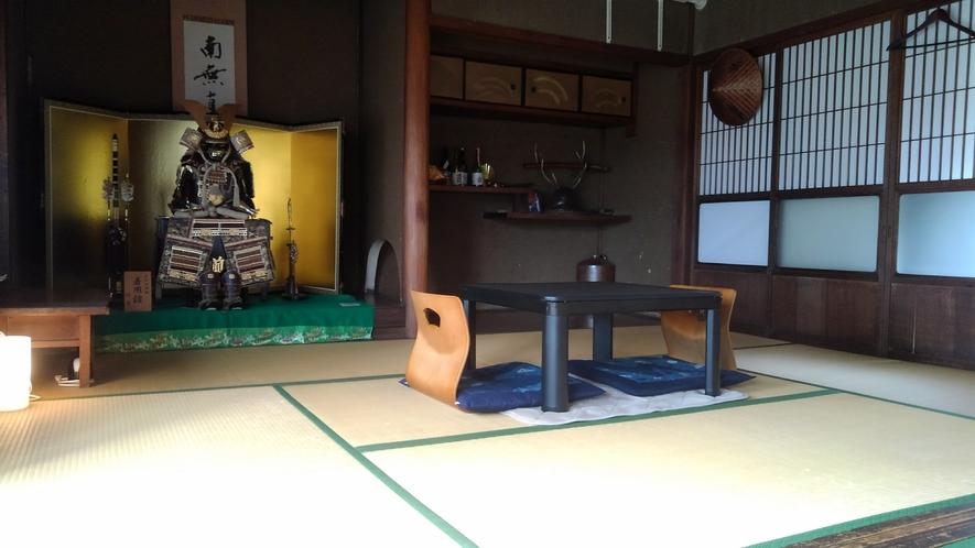 1組様限定!真田昌幸公が見た風景、真田屋敷をイメージした10畳の広いお部屋