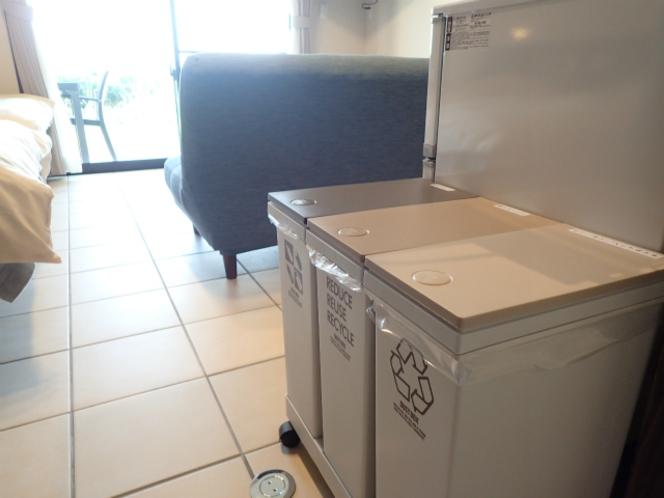 客室ゴミ箱