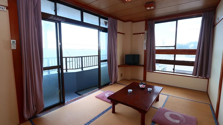 3階和室7.5畳◇お部屋から海を眺めることができます*お部屋の指定は出来かねます
