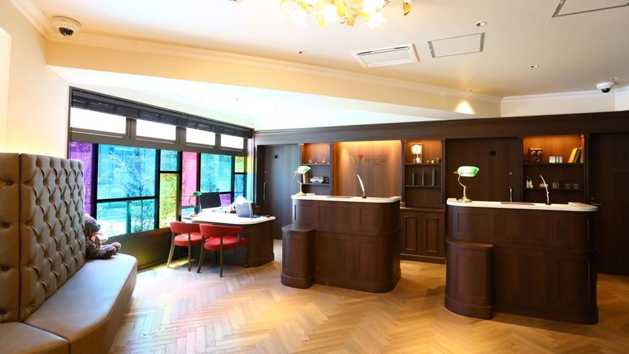 ○アロマの香りが漂う、懐かしくも新しいクラシックデザインホテル。