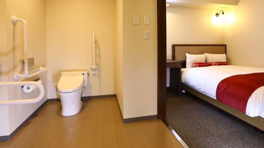 【全室禁煙】ユニバーサルダブル/ベッド幅150cm