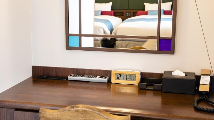 【全室禁煙】デラックスツイン/ベッド幅120cm×2
