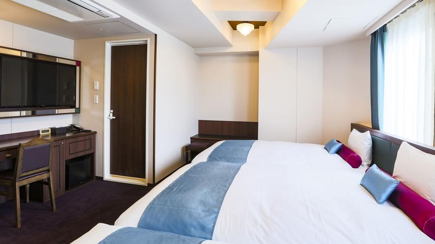 【全室禁煙】トリプル/ベッド幅120cm×2+90cm×1