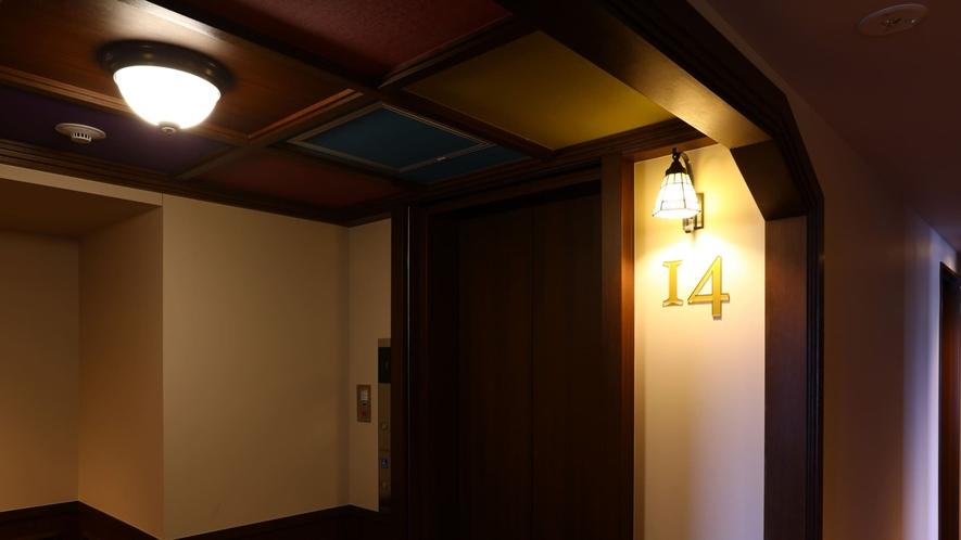 ○14階13階はプレミアムフロアとなっております。