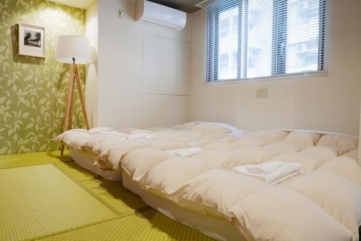ダブルベッド2台広々ツインルーム30平米