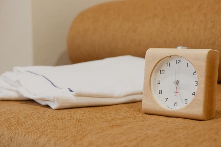 ■客室備品■ 時計 ガウン
