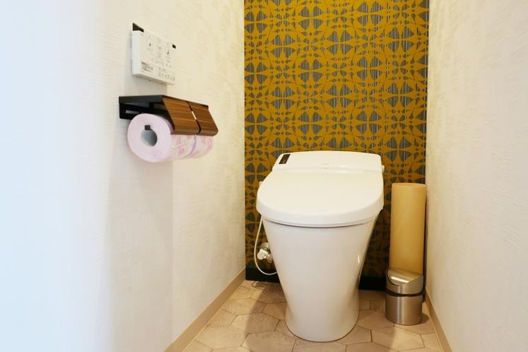 ■客室設備■ ウォシュレット付きトイレ