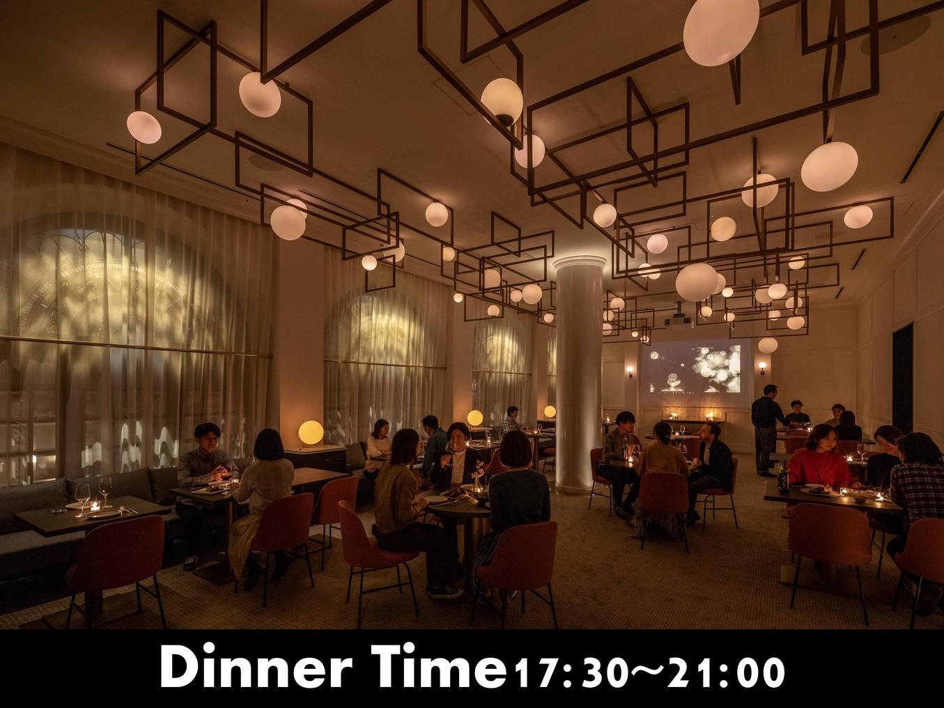 レストランThe Ball営業時間17:30〜21:00