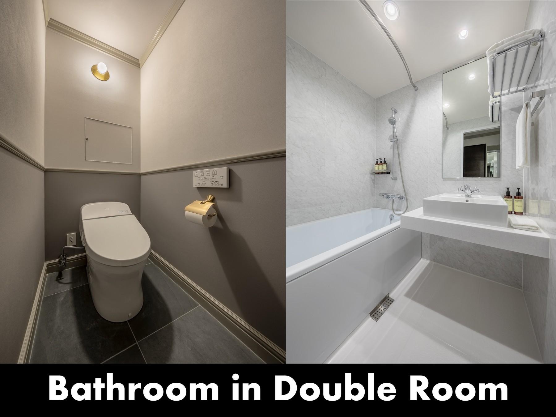 【STANDARD DOUBLE】バスルーム