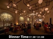 レストランThe Ball営業時間17:30~21:00