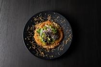 北海道男爵芋のガレット スカルモルツァのソテー