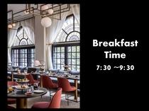 朝食のお時間 7:30~9:30
