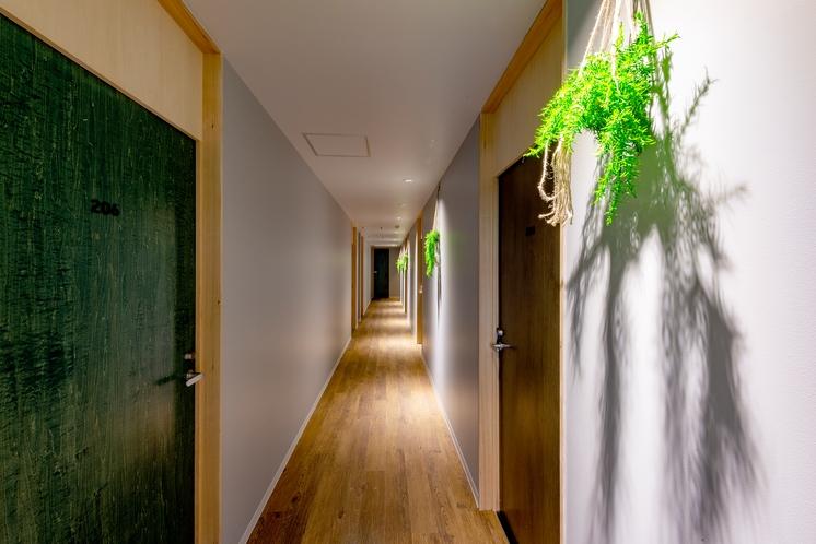 建物内廊下