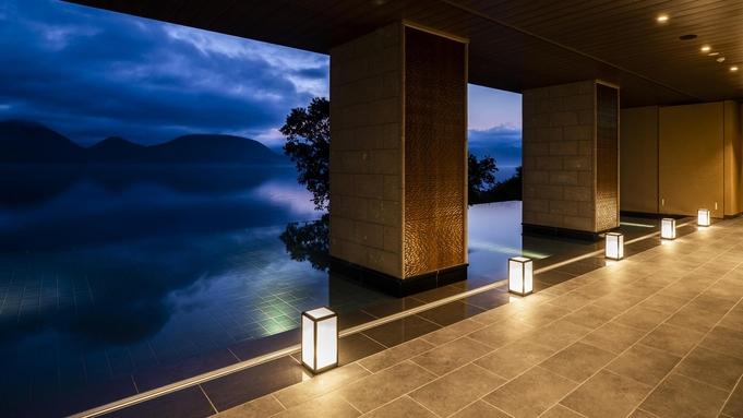 【秋冬旅セール】客室テラスからの湖の眺めを愉しみ、旬味覚ビュッフェを味わう