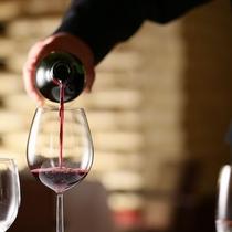 会席に合うワインもご用意しております。