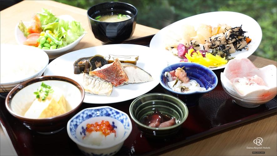 盛り付け例(和食)和洋のビュッフェをお客様好みに盛り付けください!