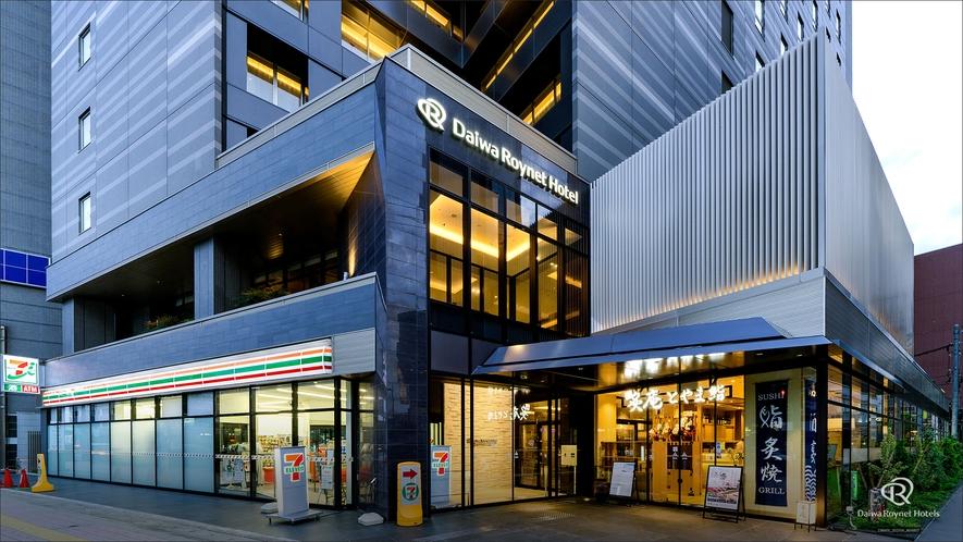 2019年4月11日オープン!ホテル1階にはコンビニ有!
