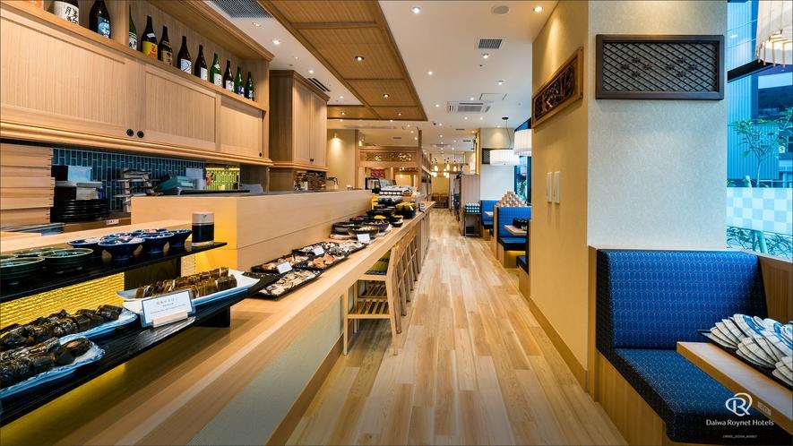 富山名産を含めた、お寿司屋さんのビュッフェをお楽しみ下さいませ!