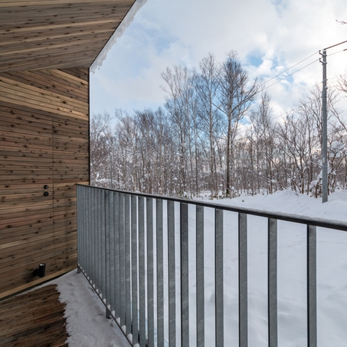 【2ベッドルーム】静寂の雪景色