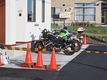 二輪車専用駐車場