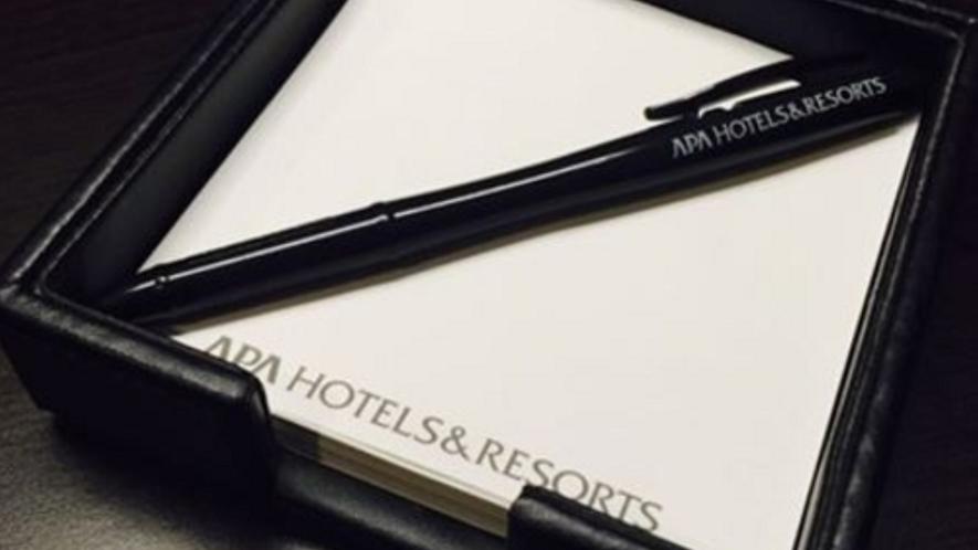 メモ用紙とボールペン