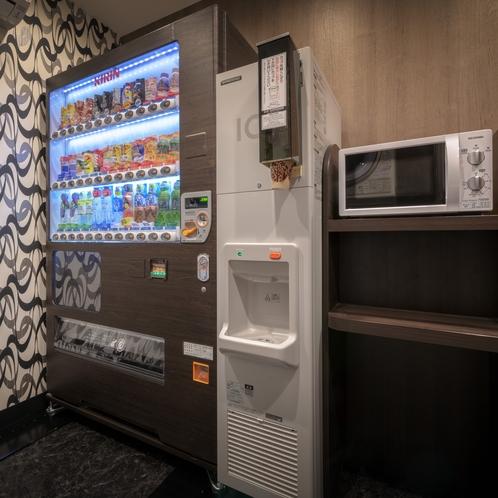自販機・製氷機・電子レンジ(1F エレベーター横)