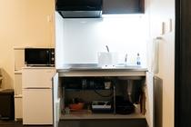 キッチンの調理器具