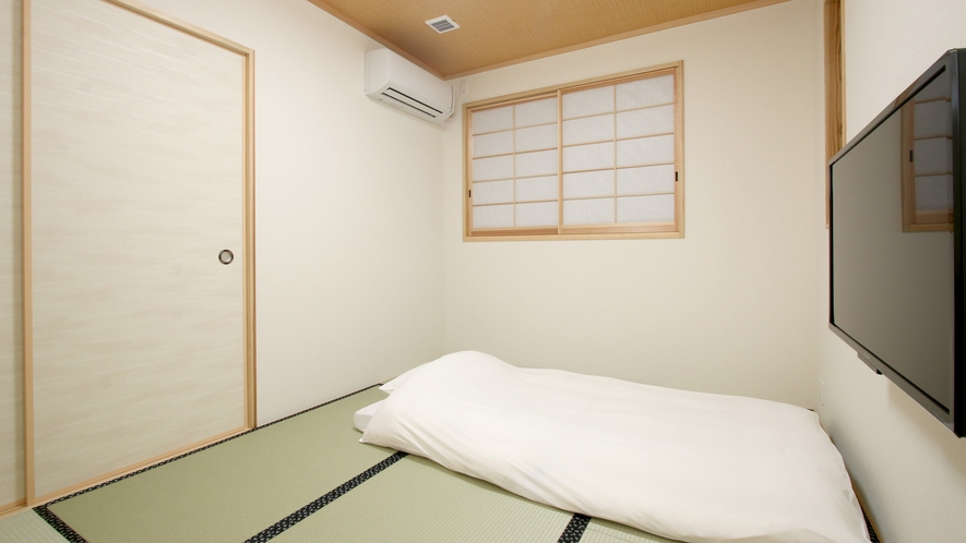 和室一例 お布団を敷いたイメージ