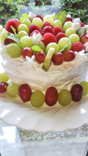 記念日のケーキの一例