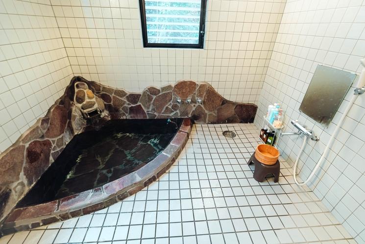 内風呂の風景