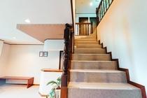 二階への階段