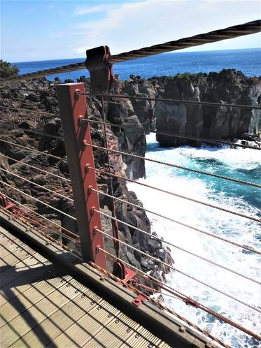 城ケ崎の吊り橋
