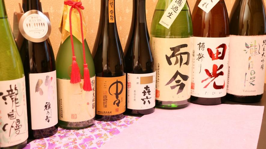 *様々な種類のお酒を取り揃えております♪日ごろのご褒美を込めて、ぜひ飲み比べをしてみては・・・☆