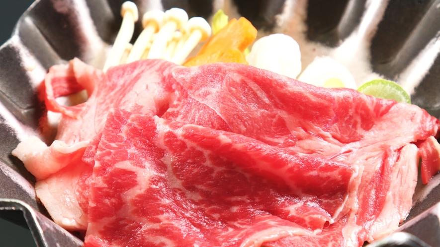 和牛すき鍋*野菜の旨みとお肉の旨みが味わえる逸品★
