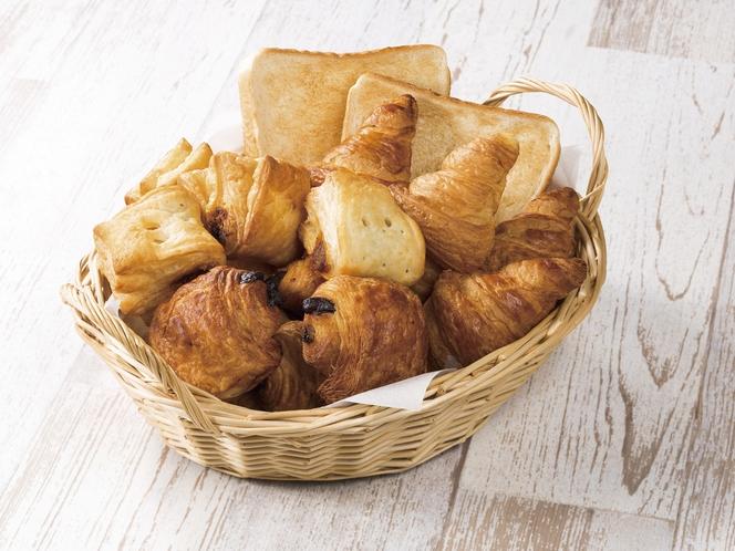 【種類豊富なパン】日替わりでご提供※イメージ