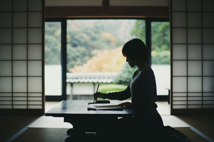 写経 ~心静かに、ただ書くことに 集中する~
