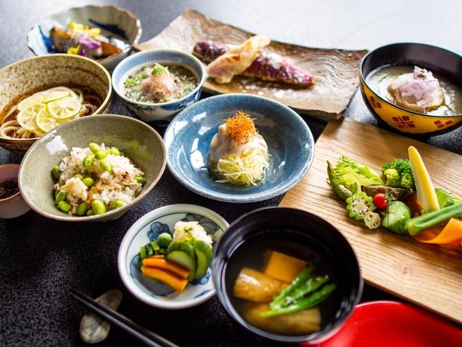 秋の精進料理 10品グレードアップコース2