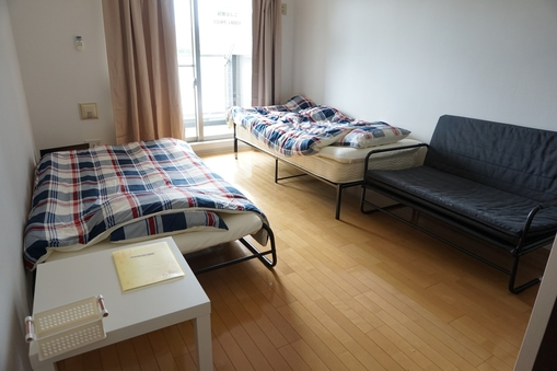ワンルームアパート バルコニー付 #402 4階