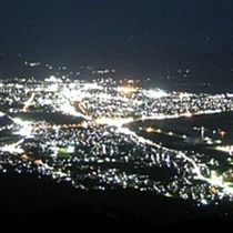 釜臥山の夜景